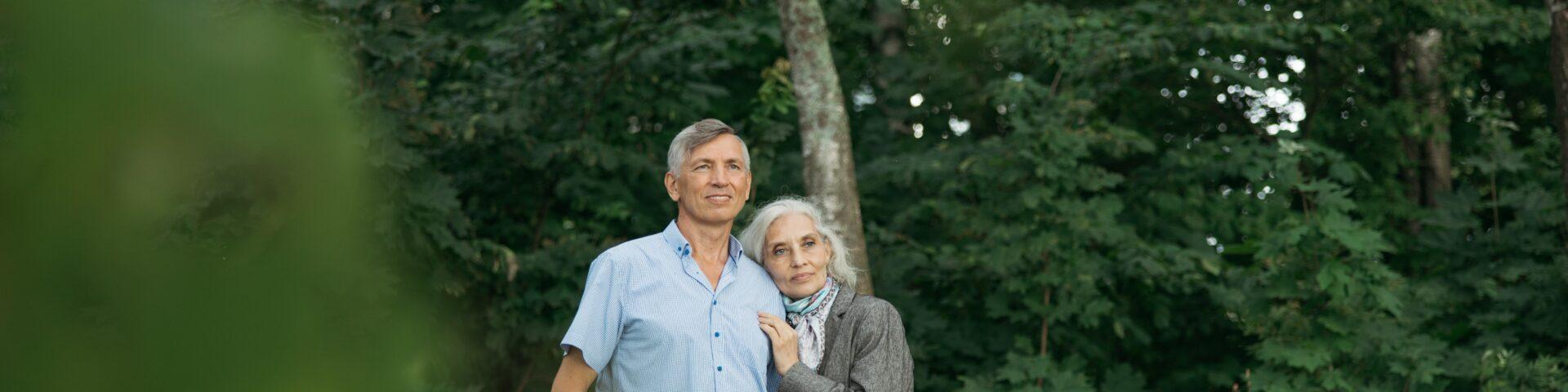 foto van twee mensen, illustratie bij partnerpensioen uitruilen